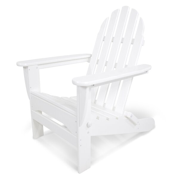 Classic Plastic Adirondack Folding Chair by POLYWOOD POLYWOOD®