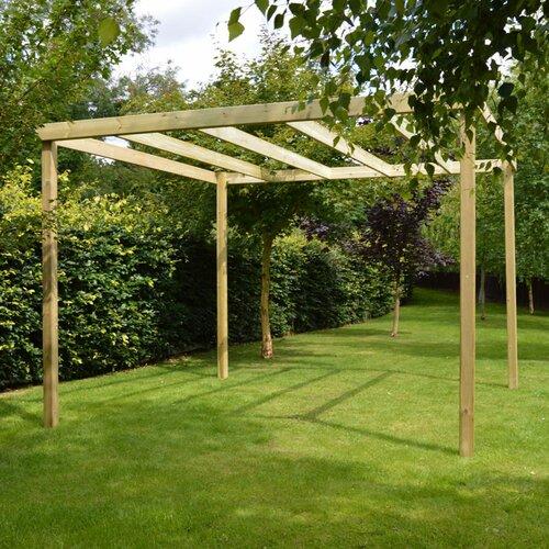 Randi Manufactured Wood Pergola Sol 72 Outdoor Finish: