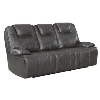 Almada Leather Reclining Sofa by Latitude Run SKU:ED371067 Purchase