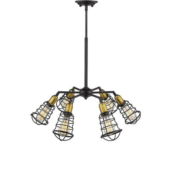 Mardell 6 - Light Lantern Geometric Pendant by Williston Forge Williston Forge