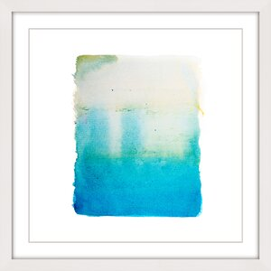 'Shimmering Dream' Framed Painting Print by Marmont Hill