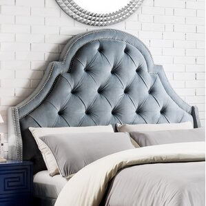 Napoleon Upholstered Wingback Headboard by Iconic Home