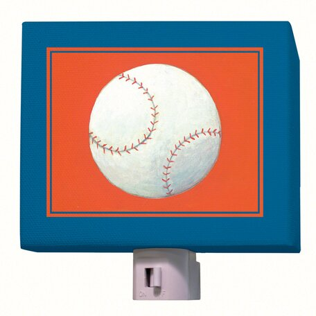 Baseball Night Light by Oopsy Daisy