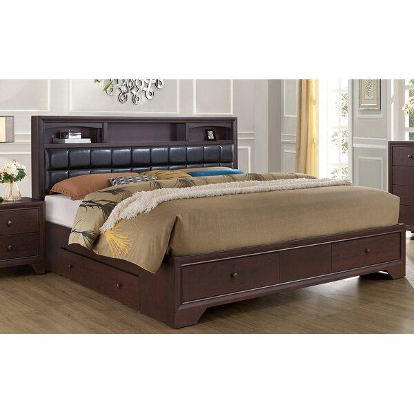 Hunsinger Full Upholstered Storage Platform Bed by Alcott Hill