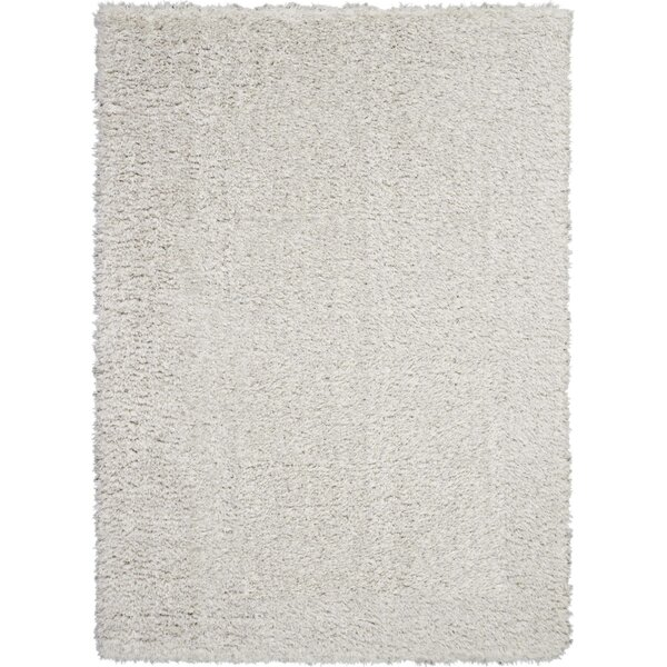 Dalrymple Solid Light Gray Area Rug by Mercer41