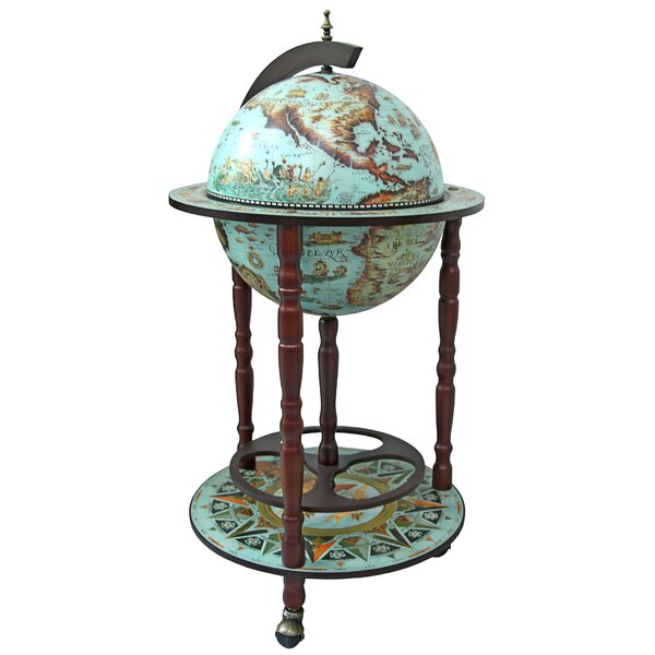 Cielo Replica Globe Mini Bar by Design Toscano Design Toscano