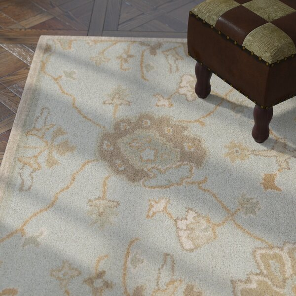 Kempinski Hand-Tufted Gray Area Rug by Astoria Grand