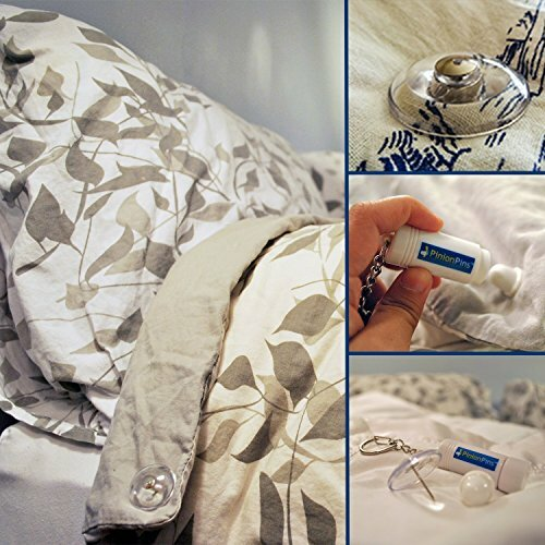 Keller Pinion Pins Secure Magnetic Duvet Clip by Symple Stuff