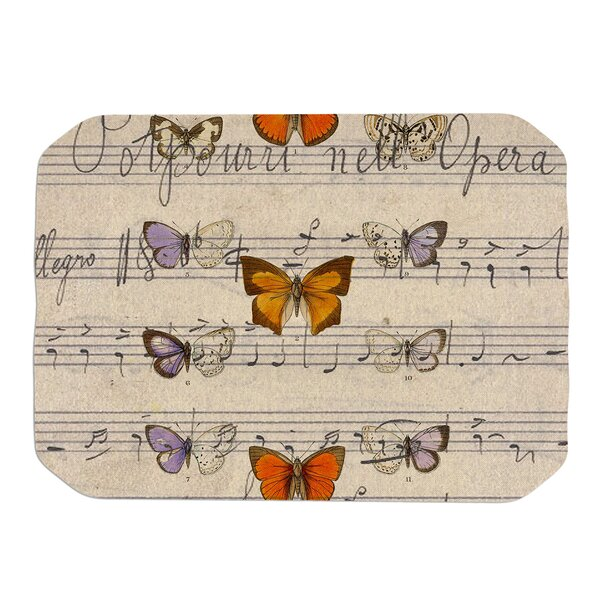Butterfly Opera Placemat by KESS InHouse