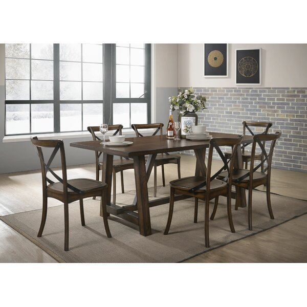 Vineyard 7 Piece Dining Set by Gracie Oaks
