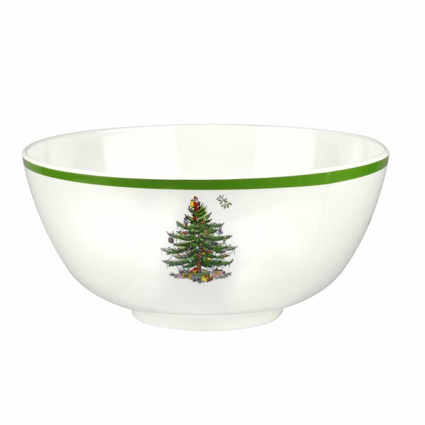 Christmas Tree Melamine Serving Bowl by Spode