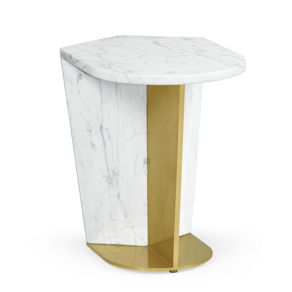 Fusion End Table by Jonathan Charles Fine Furniture Jonathan Charles Fine Furniture