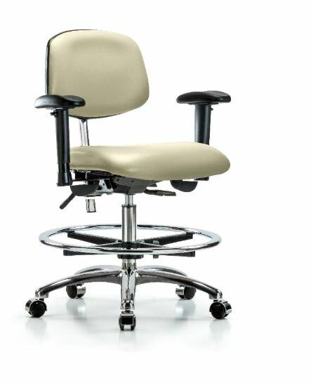 Anouk Medium Bench Ergonomic Office Chair by Symple Stuff