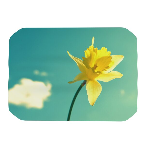 Daffodil Placemat by KESS InHouse