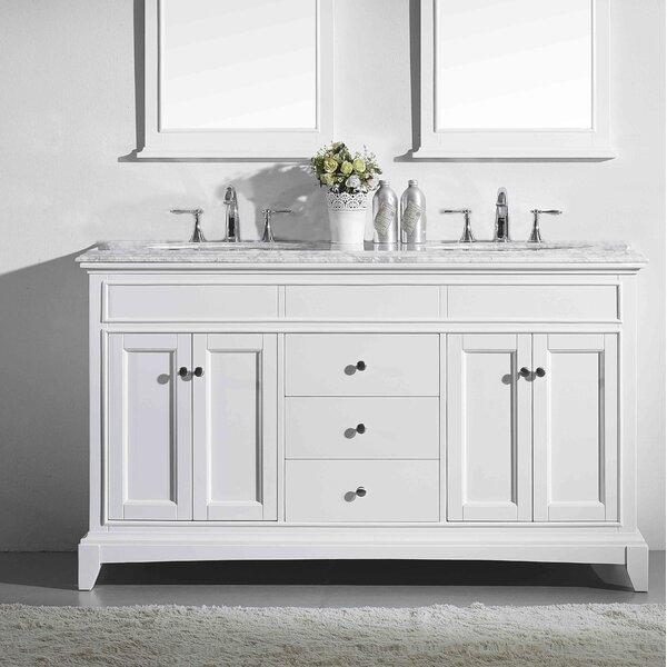Pineville 72 Double Bathroom Vanity Set
