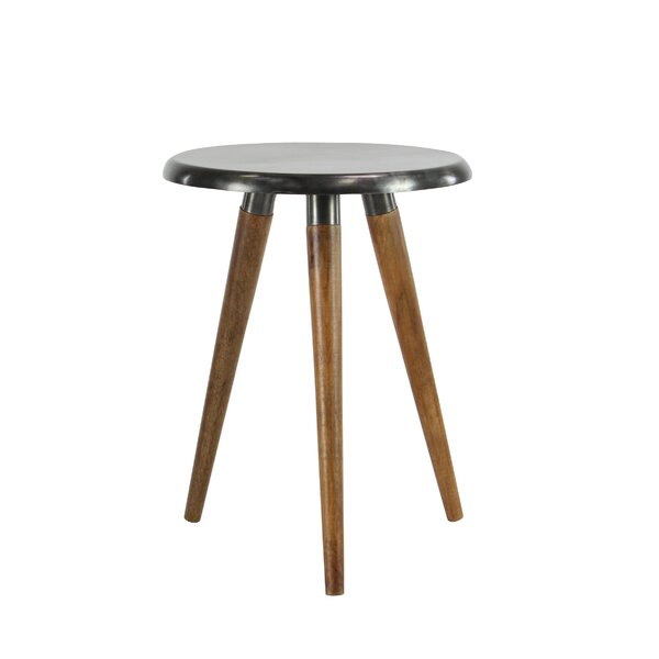 Kujawski Round End Table by Williston Forge