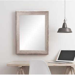 Affordable Price Manzer Wall Mirror ByUnion Rustic