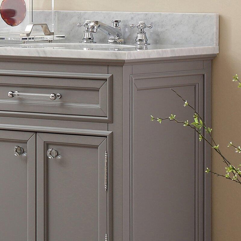sink for bathroom vanity. Bergin 72  W Double Sink Bathroom Vanity Set with Mirror Three Posts