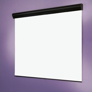 High Contrast Silhouette / Series M with AutoReturn Gray Manual Projection Screen