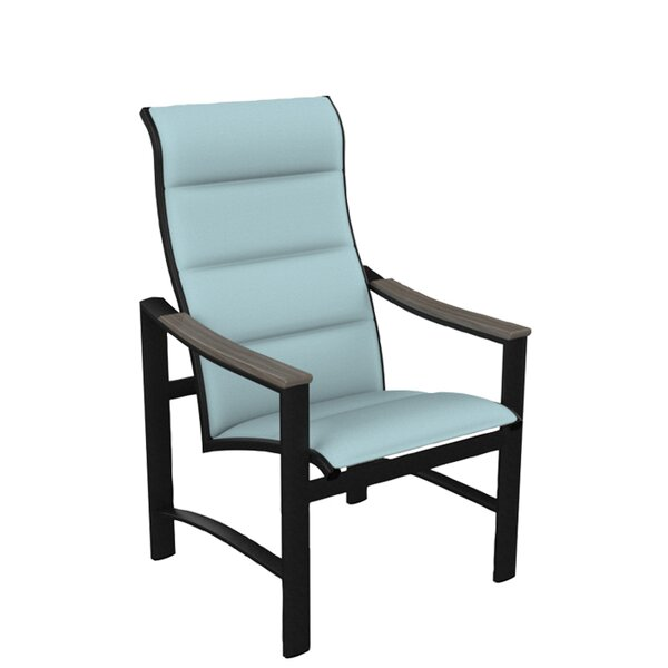 Brazo Padded Sling High Back Patio Dining Chair by Tropitone