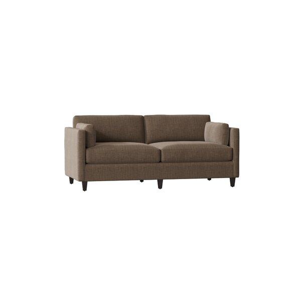 Beau Studio Sofa by AllModern Custom Upholstery AllModern Custom Upholstery