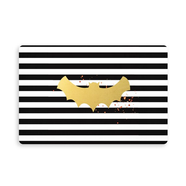 Overstreet Bat Kitchen Mat by The Holiday Aisle