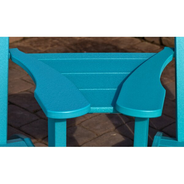 Kellner Plastic Adirondack Chair by Bayou Breeze
