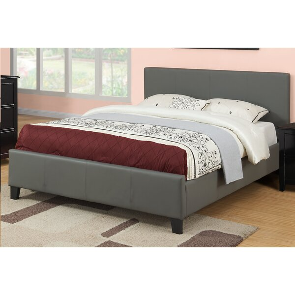 Nottle Block Queen Upholstered Platform Bed by Latitude Run