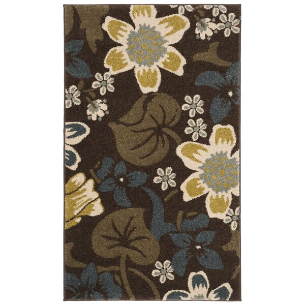 Newport Brown/Mustard Area Rug by Safavieh