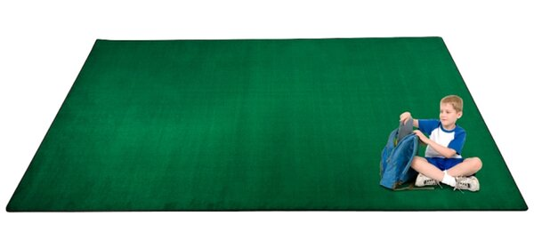 KidTastic Green Area Rug by Kid Carpet