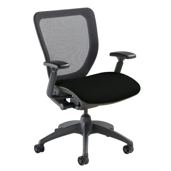 WXO Series Mid-Back Mesh Desk Chair by Nightingale Chairs