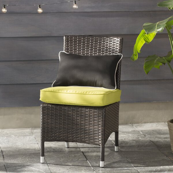 Orion Patio Dining Chair with Cushion (Set of 2) by Brayden Studio