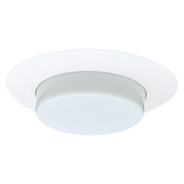 Opal Lexan Drop 6 Recessed Trim by NICOR Lighting