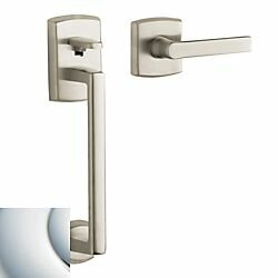 Soho Handleset with Interior Lever and Sectional Trim, Less Deadbolt by Baldwin