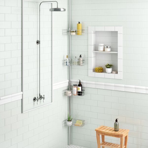 Kohut L Shape Corner Shower Caddy by Zipcode Design