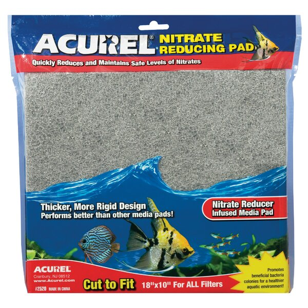 Nitrate Remover Infused Media Pad by Acurel