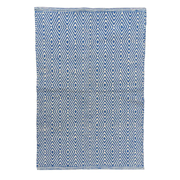 Diamond Blue/White Area Rug by Artim Home Textile