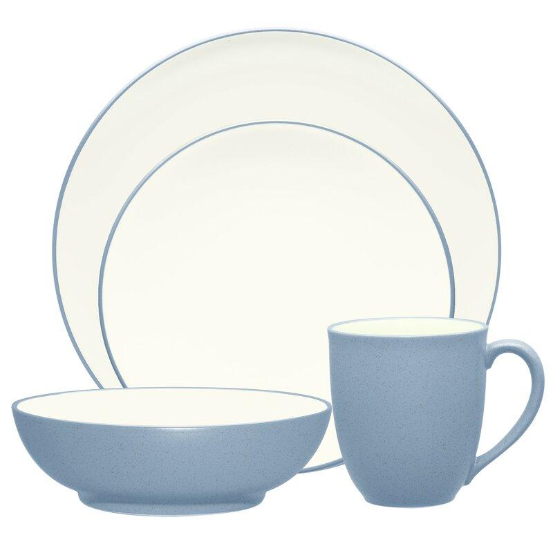 blue dinnerware sets