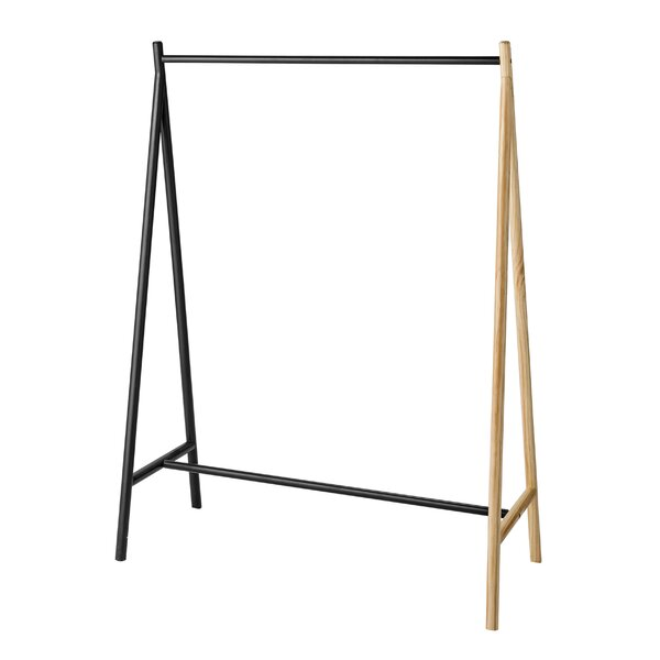 Whiteway Wood and Metal Clothes Rack by Langley Street