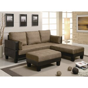 woodbridge sleeper sectional - Crypton Sofa