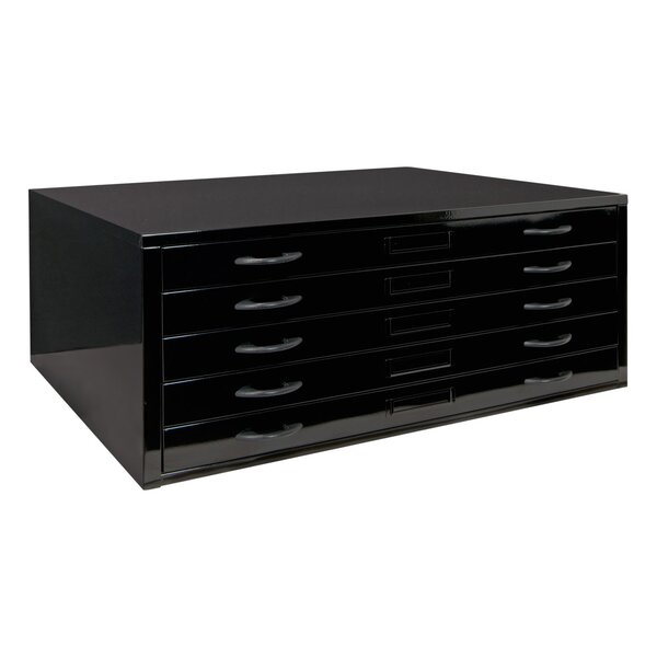 Flat 5-Drawer Lateral Filing Cabinet by Offex