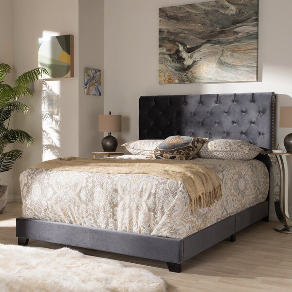 Volk Upholstered Standard Bed by House of Hampton