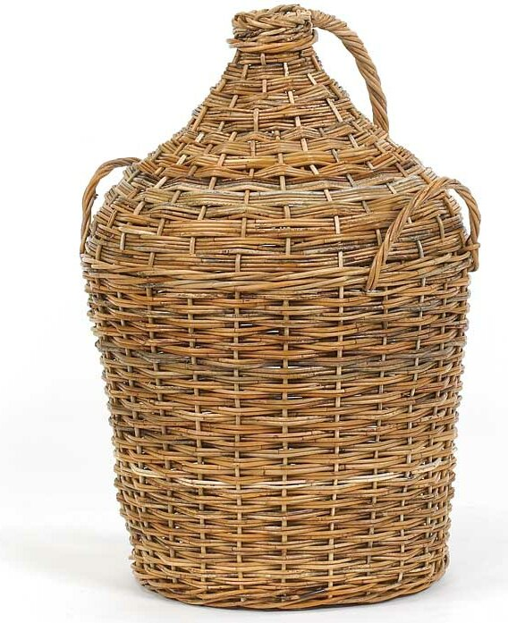French Country Vintner's Rattan Basket