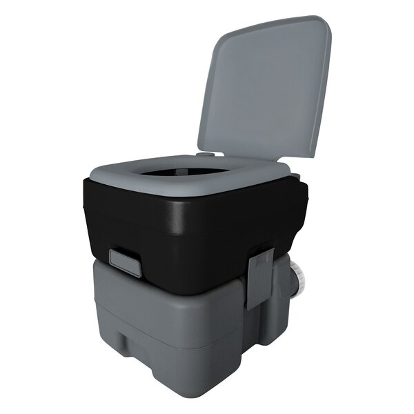 Portable 2.5 GPF Round One-Piece Toilet by Reliance