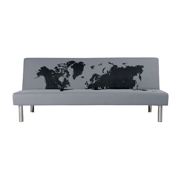 Bacchus Upholstered Reclining Sofa Bed by Ivy Bronx