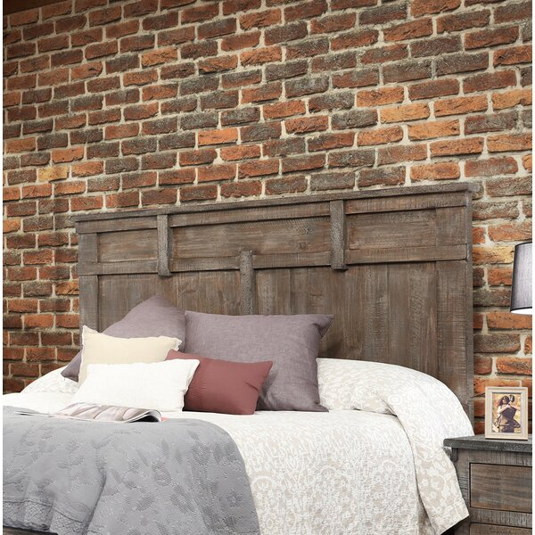 Studley Panel Headboard by Millwood Pines