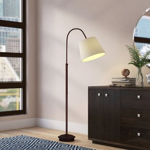 Read Reviews Hillier 63 Arched Floor Lamp By Mercury Row