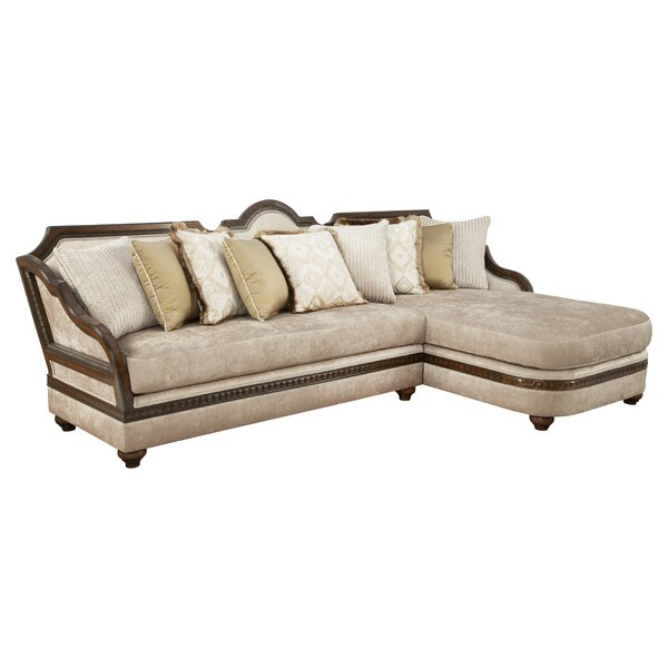 Oaklawn Right Hand Facing Sectional By Astoria Grand