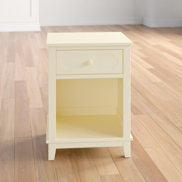 Review Cynthia 1 Drawer Nightstand