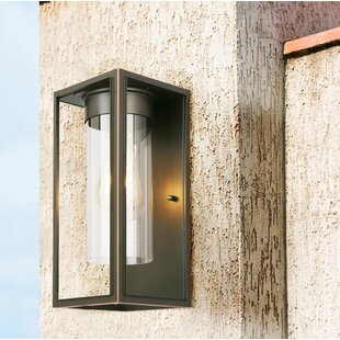 Best Polak LED Outdoor Flush Mount By Loon Peak